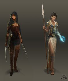 Silvernai: character concept pack 2 by noiprox on deviantART