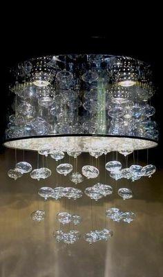 Glass Bubbles Chandelier