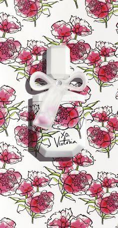 Like spring in a bottle. Those pretty watercolors will look SO GOOD on your fragrance shelf. | Victoria's Secret xo, Victoria Eau de Parfum