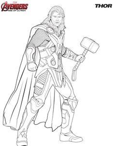 Ausmalbilder Thor Kostenlos Ausmalbilder   Thor Malvorlagen ...