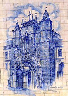 Igreja de Santa Cruz - Portugal | Portugal Cars | Portugal Car Hire | Car Rental | Lisbon | Faro - www.portugal-cars.com