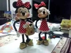 Mickey Minnie em EVA 3d parte II - YouTube