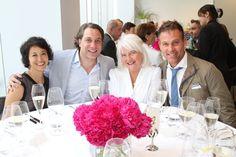 Anita Sarsidi, Thom Filicia, Ellen Levine and myself at the Elle Decor 2011 A-List Luncheon  #jeffreyalanmarks #JAM #Themeaningofhome