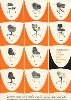 Herman Miller Seating Ad 1959