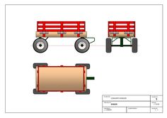 How to buid a wagon toy. Free plans