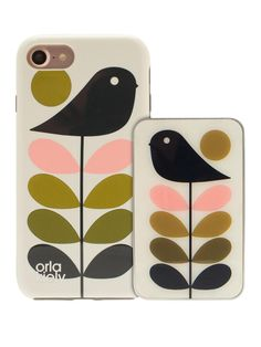 Orla Kiely Orla Kiely Iconic Fashion Hardshell Duo Phone Case pack