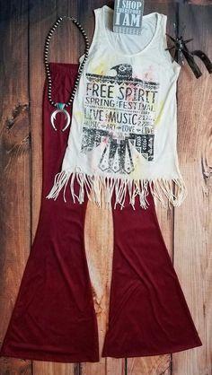 Cowgirl BELLS Burgandy Wine FAUX SUEDE Boho Gypsy Bells Pants Leggings Large #NULABEL #leggings