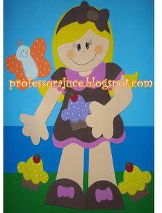Aprender Brincando: Decoração para sala de aula Tema: Meninos e Meninas Cupcake