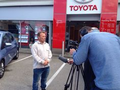 Filming for new website Lots of filming @lindoptoyota for our new website  Had a great day, new website coming up soon, keep your eye on www.lindoptoyota.co.uk Also catch us on #pinterest lindop Toyota for all news #toyota  #aygo #yaris #auris #prius #avensis #rav4 #GT86 #hilux and many more