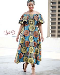 "Spring dress including Head-Wrap Size: Now available for purchase Whatsapp 0843032990 or 0622395637 ""The Space"": Pavilion. Best African Dresses, African Fashion Ankara, African Traditional Dresses, Latest African Fashion Dresses, African Print Dresses, Ankara Dress Styles, African Print Fashion, African Attire, African Wear"