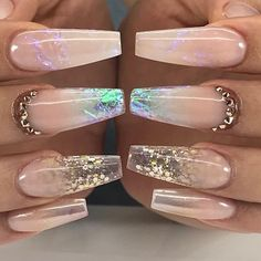 In seek out some nail designs and ideas for your nails? Here's our list of 34 must-try coffin acrylic nails for fashionable women. Aycrlic Nails, Glam Nails, Dope Nails, Bling Nails, Matte Nails, Fun Nails, Manicure, Coffin Nails, Nagellack Design