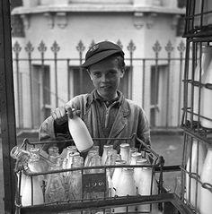 milk boy, Frederick Wilfred: London Photographs 1957-1962