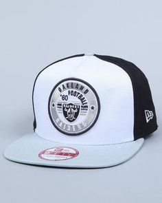 this is ill! Oakland Raiders Retro Circle A-Frame Snapback Cap - POW! 048887ccca2