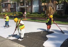 À Los Angeles, les rues ont été repeintes en blanc pour lutter contre la chaleur !