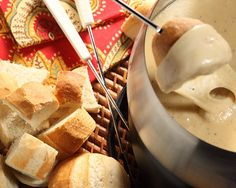 Need a fun New Year's recipe? Try our quick and easy Crusty Rolls and a yummy cheese fondue... just the answer.