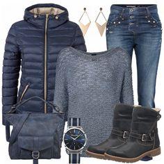 Winter-Outfits: Julia bei FrauenOutfits.de