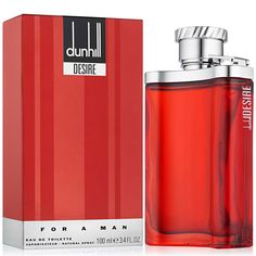Save on Desire For Men By Alfred Dunhill Eau De Toilette Spray. Harrods, Red Perfume, Alfred Dunhill, Online Pharmacy, Online Shopping Stores, Seal, Free Delivery, Men's Cologne, Box