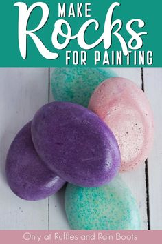 I figured out how to make rocks for painting rocks with concrete and it's the coolest thing EVER! I can stain them any color and have a base for ANY idea! Pebble Painting, Pebble Art, Stone Painting, Mandala Rocks, Mandala Art, How To Make Rocks, Mandela Stones, I Need A Hobby, Holiday Boutique