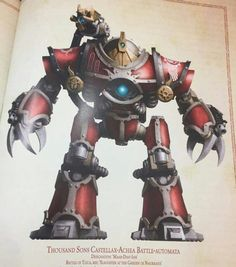 Thousand sons robot