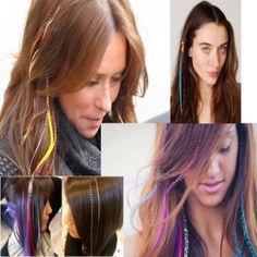 Renkli Saç Aksesuarları