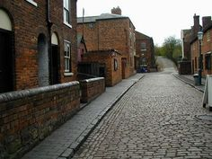 Black Country Museum, Dudley, England. This is within walking distance to my husband's family home.