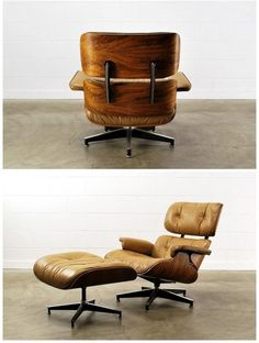 milo baughman thayer coggin lounge chair and ottoman | from a