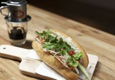 New city lunch spot Vietnoms promises the most authentic bánh mì this side of Bat Dan. Vietnamese Banh Mi, Rice Paper Rolls, Melbourne Cbd, Cafe Food, Grilled Chicken, Places To Eat, Hot Dog Buns, Great Recipes, Grilling