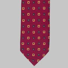 Drake's Purple Motif Print Silk Tie Tie Colors, British Style, Silk Ties, Creative Director, Purple, Classic, Shop, Fabric, Tela