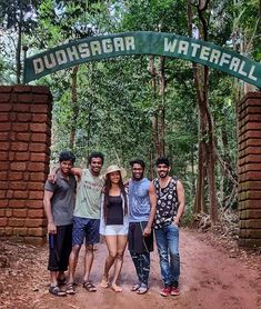 Dudhsagar Waterfalls Tour Season 2018 Trip to amazing dudhsagar falls started, make prebooking to avoid availability issue during trip. Goa Travel, India Travel Guide, Travel Destinations, India Map, Goa India, Beautiful Places To Travel, Wonderful Places, Rio, Jungle Safari