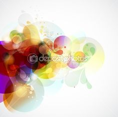 Abstract vector background by theromb - Stock Vector