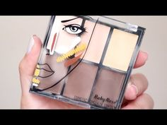 PALETA DE CORRETIVO RUBY ROSE LIGHT | RESENHA + TUTORIAL - YouTube