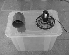 Fabricar aire acondicionado casero