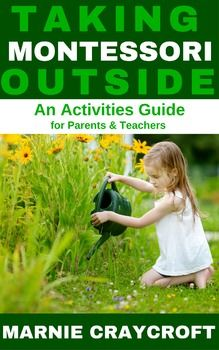 A Montessori Activities guide for parents & educators connecting the indoor and outdoor classrooms. This download is is the first in a series and includes ten Practical Life activities for the outdoor classroom. See my blog, Montessori Pre-Reading BundleMontessori Pink Series BundleThis work is licensed under a Creative Commons Attribution-NonCommercial 4.0 International License.