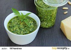 Bazalkové pesto stálezelené recept - TopRecepty.cz