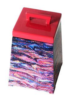 A Loja do Gato Preto | Caixa Multicolor Tampa Rosa #alojadogatopreto