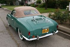 1958 Karmann Ghia Maintenance/restoration of old/vintage vehicles: the material for new cogs/casters/gears/pads could be cast polyamide which I (Cast polyamide) can produce. My contact: tatjana.alic@windowslive.com