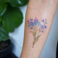 ผลการค้นหารูปภาพสำหรับ forget-me-not tattoo