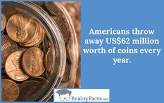 Money Facts : Throw away | did you know