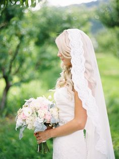 #Veil | Ryan Ray Photography | See more on #SMP Weddings - http://www.stylemepretty.com/2013/12/05/orchard-wedding-from-ryan-ray-photography/