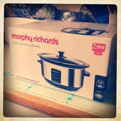 United Cakedom: Murphy Richards Slow Cooker GIVEAWAY & Quorn Cheesy Ravioli
