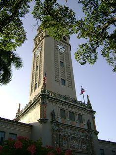 "Main tower of the University of Puerto Rico campus in Rio Piedras, San Juan, Puerto Rico*****  ""Torre Universidad de-Puerto Rico Rio Piedras"". Licensed under Public Domain via Commons -"