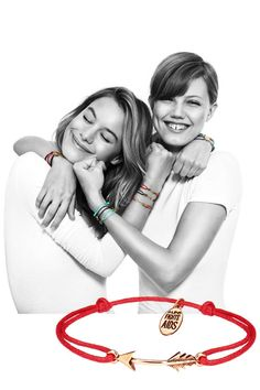 Giving back is always in style: ALDO Fights AIDS with their newest bracelets.
