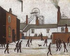 Millworkers, 1948 by L.S. Lowry (1887–1976)