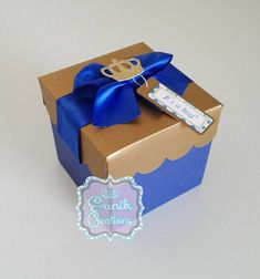 Royal Baby Shower Explosion Box Invitation, Baby Shower Invitation, Royal First Birthday Invitation, Handmade Invitation Box Invitations, Handmade Invitations, First Birthday Invitations, Shower Invitation, Fancy Baby Shower, Royal Baby Showers, Baby Boy Shower, Baby Shower Images, Baby Shower Invitaciones