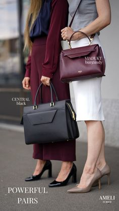 Empowering our businesswomen with elegant yet minimalistic business bags. Discover our wide selection of functional work handbags, designed to be an extension of your own ambition and style. Designed in Switzerland and handcrafted in Italy. Zurich, Work Handbag, Business Outfits, Hermes Kelly, Business Women, Pairs, Handbags, Ambition, Chic