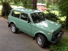 Russian Overlander: 1987 Lada Niva