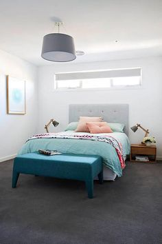 Charcoal carpet white walls M BED carpet? Plush or loop