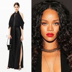 Rihanna in Givenchy Pre-Fall 2015 #DSNPredicts #DSNGrammys