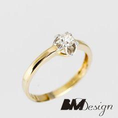 Pierścionek zaręczynowy Rzeszów z diamentem BM Rzeszów #pierścionek z diamentem