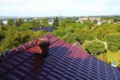 Pozor na přehřívání podstřešních a půdních prostor Roof Tiles, Sidewalk, Side Walkway, Walkway, Walkways, Pavement